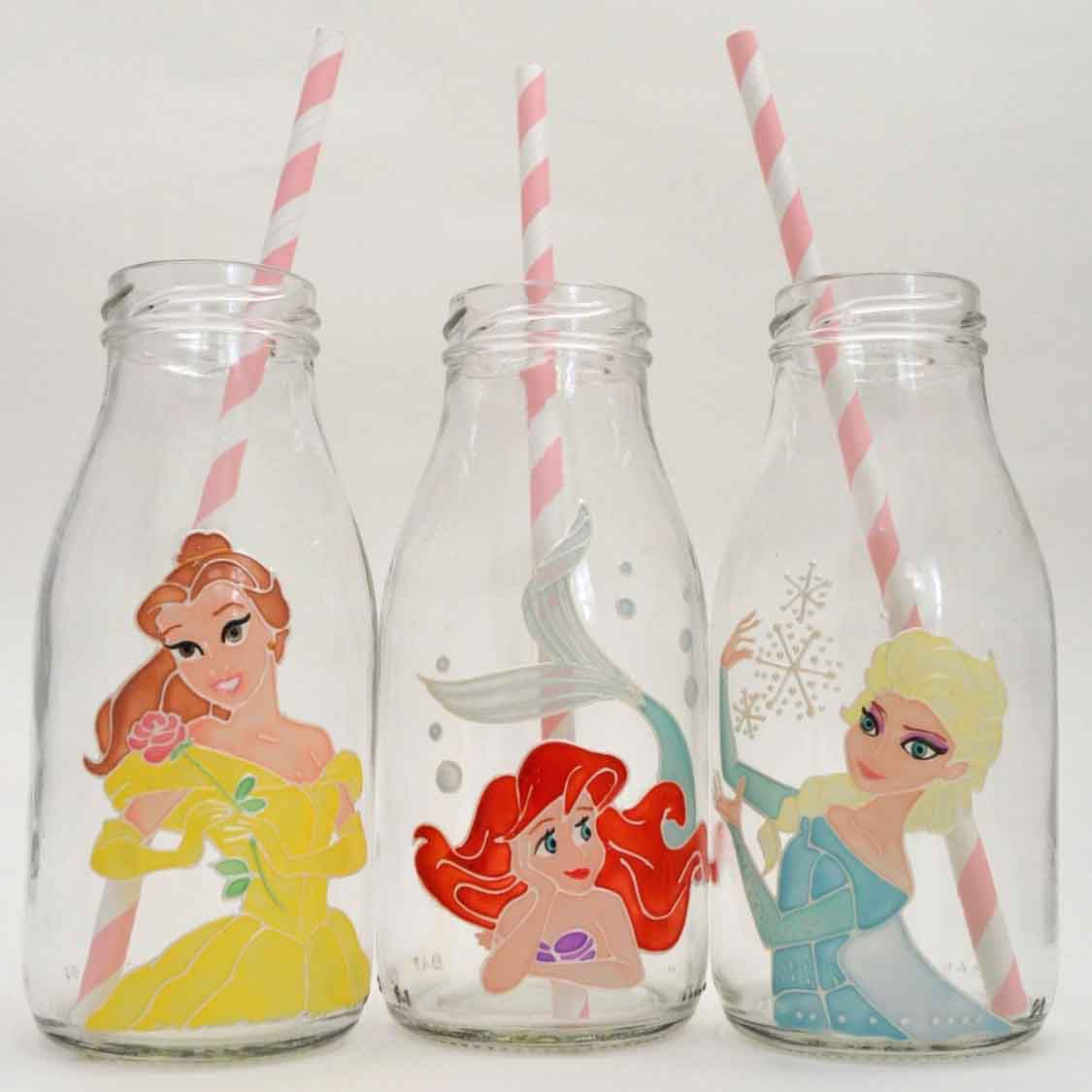 disney princess drinks bottles