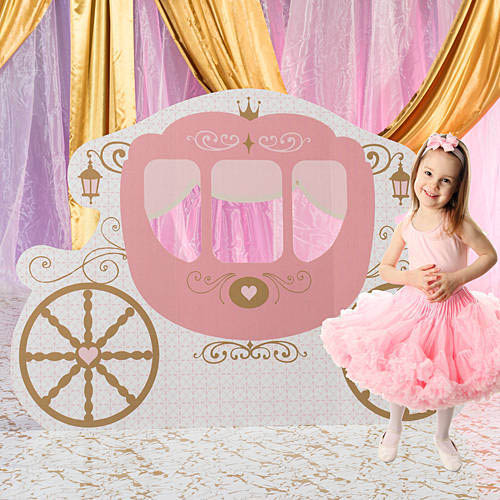 princess carriage standee