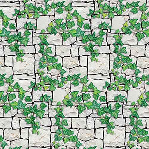 stone brick ivy background paper