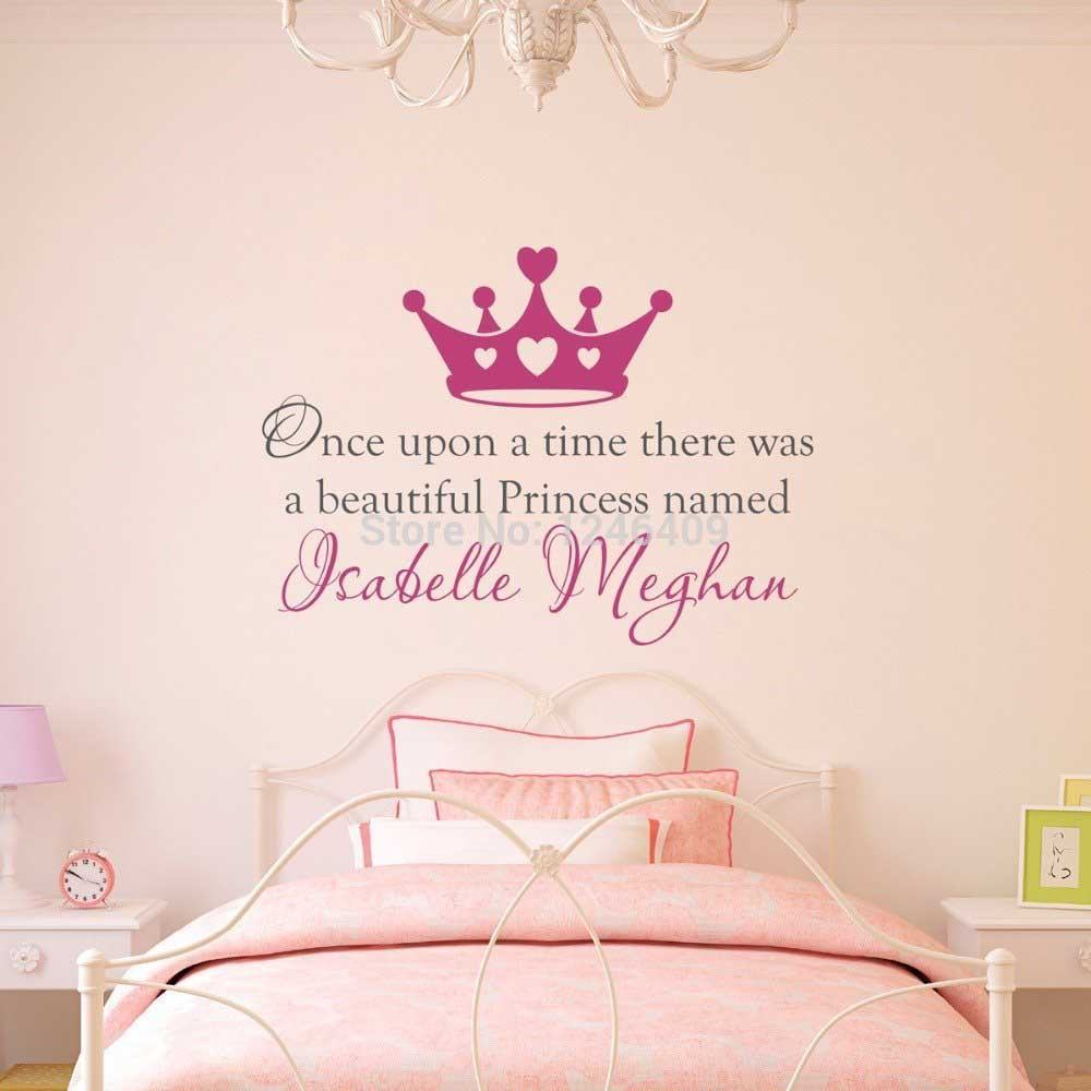 princess wall decalls
