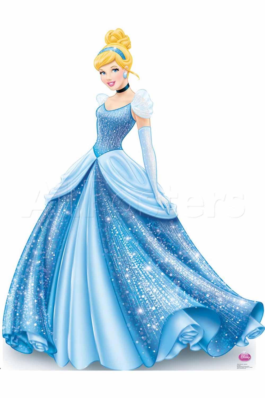 disney princess standee cinderella