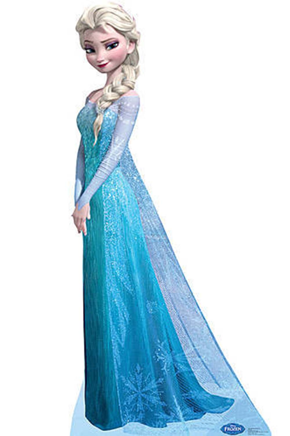 disney princess standee elsa frozen