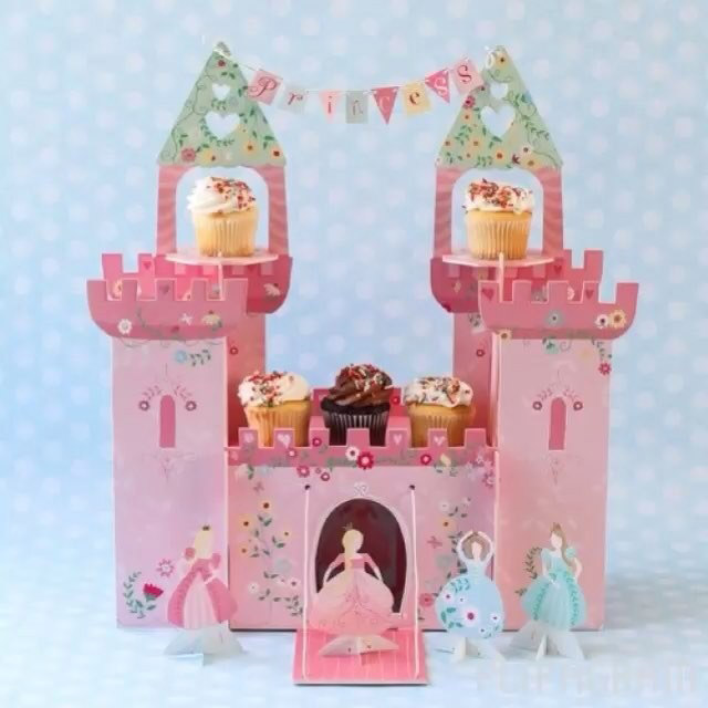 princess castle centerpiece
