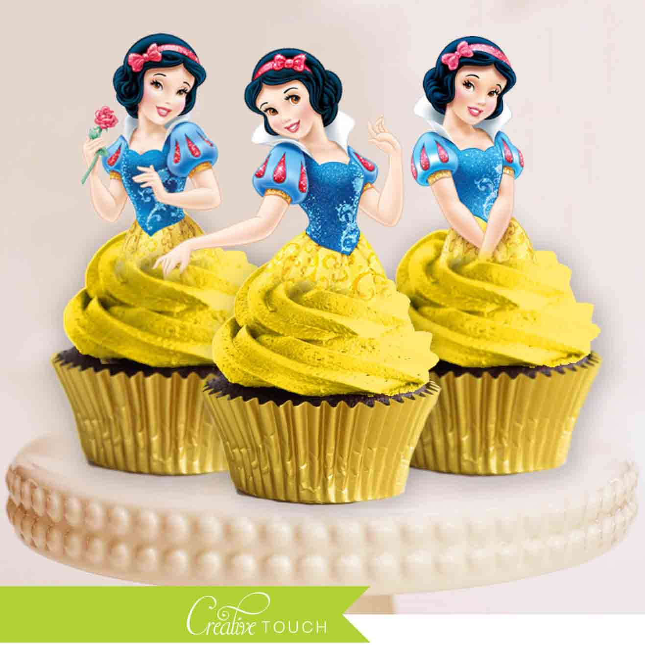 disney princess cupcake topper snow white