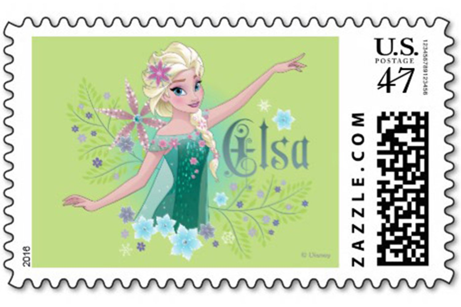 princess postage stamps