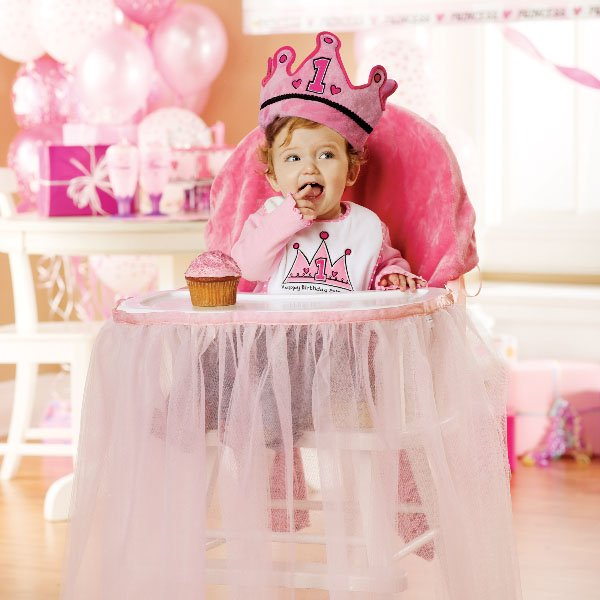 princess high chair decorations
