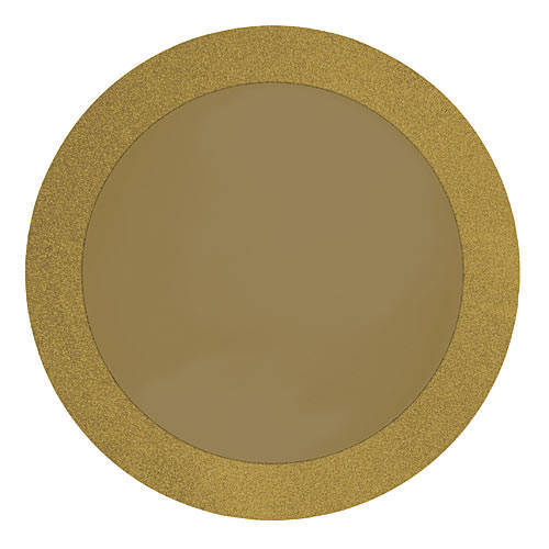 gold glitter boarder placemats