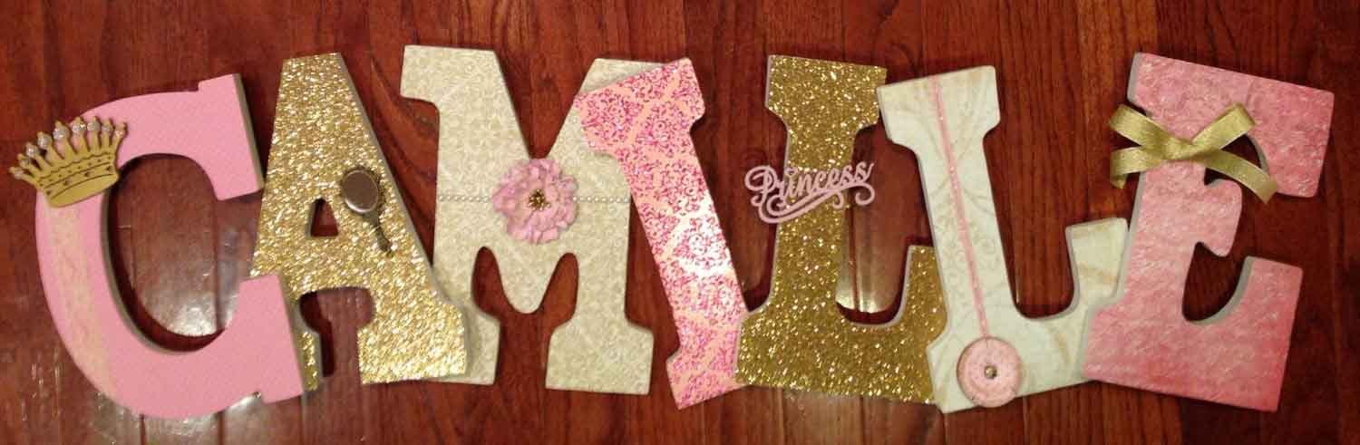 personalized princess letters