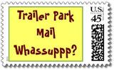 trailer trash postage stamps