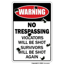 redneck signs