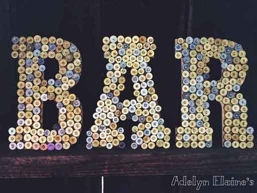 redneck party decorations shotgun shell letters
