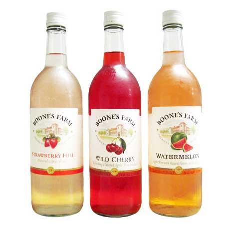 boones farm sweet wine coolers