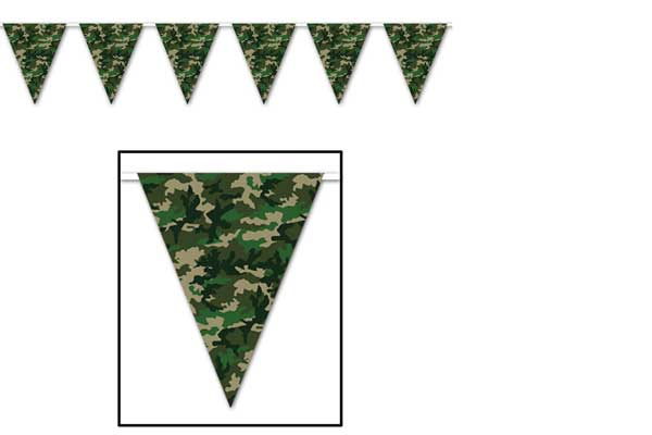 redneck party decorations camouflage banners