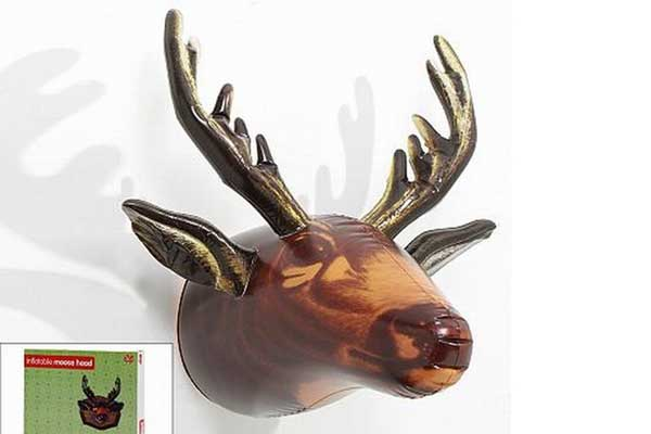 redneck party decorations inflatable moose head