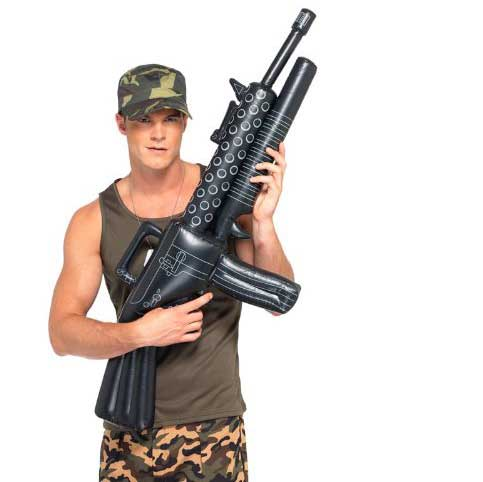 redneck party decorations inflatable gun