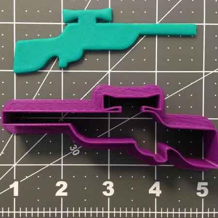 redneck cookie cutter rifle