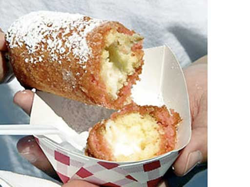 redneck party food deep fried twinkies