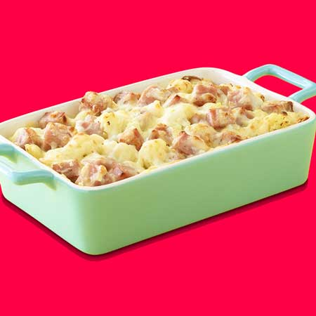redneck party food Spam casserole