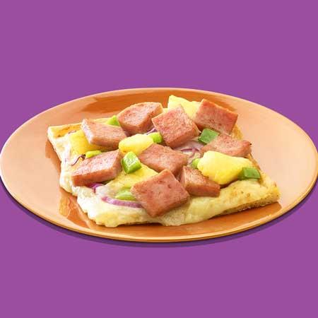 redneck party food Spam hawaiian pizza