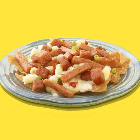 redneck party food spam nachos