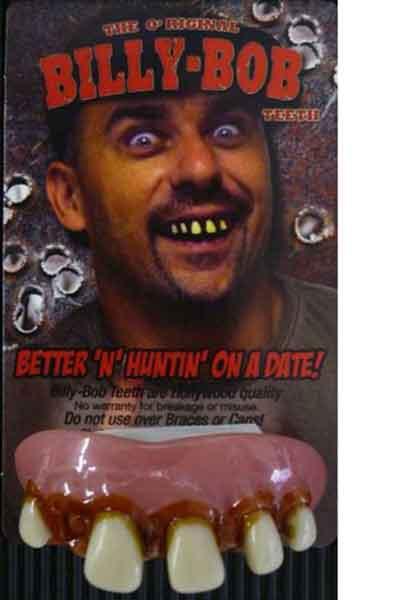 white trash party teeth