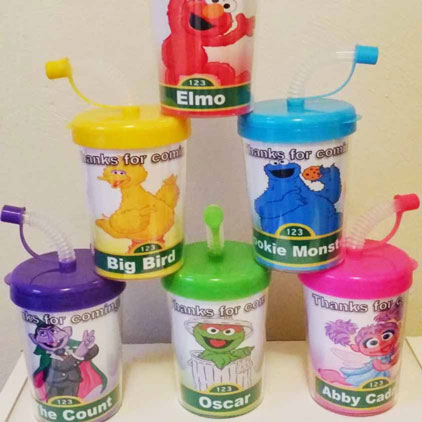 sesame street sippers