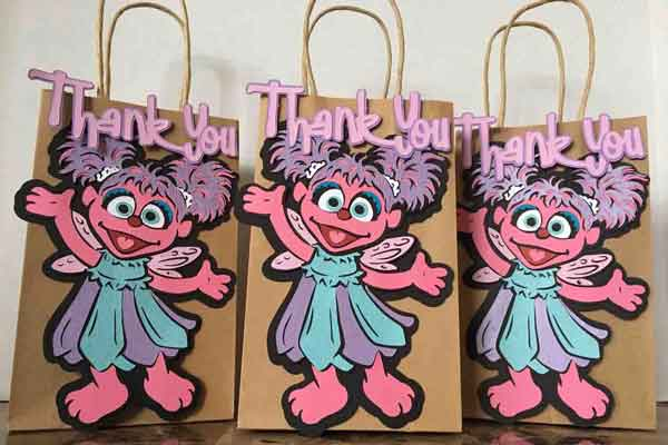sesame street abby cadabby party favor bags