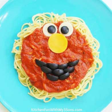 elmo spaghetti