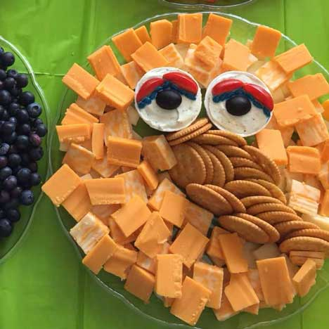 sesame street cheese platters