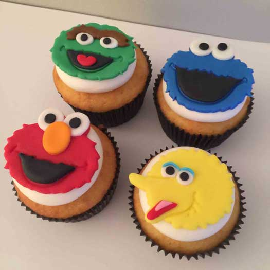 sesame street edible cake toppers