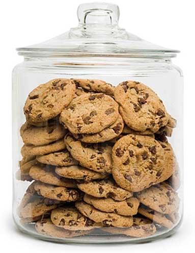 cookies in cookie jar