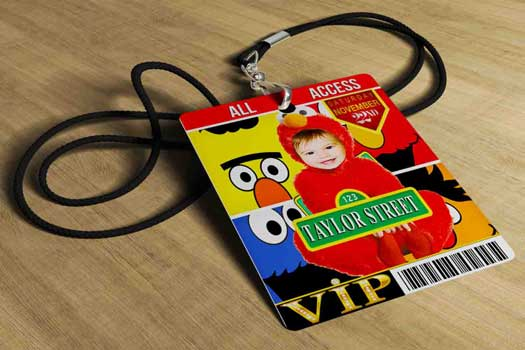 sesame street VIP pass invitation