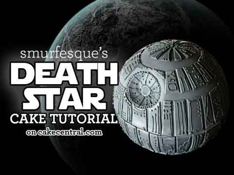 death star cake tutorial