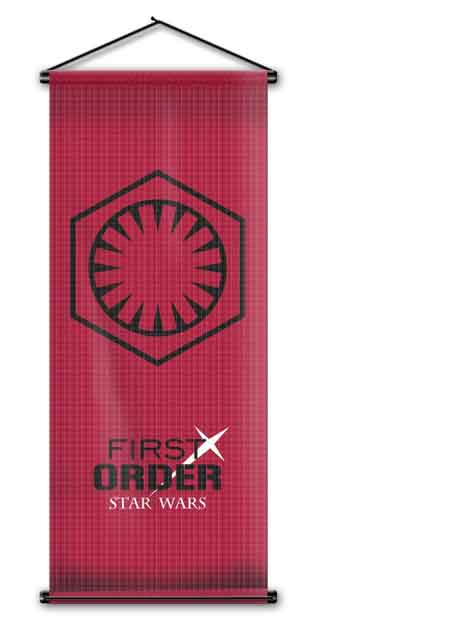 star wars flag wall scroll
