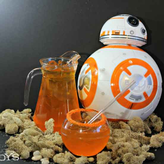 star wars BB8 punch drink