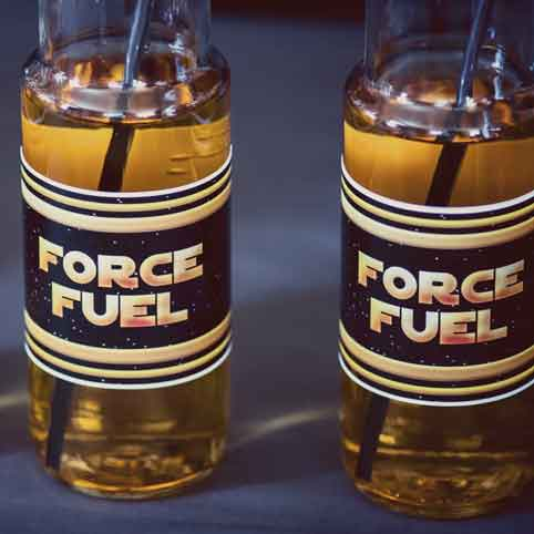 star wars drinks labels