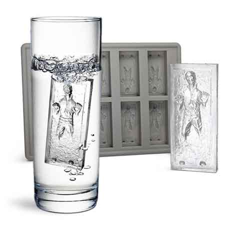 han solo in carbonite ice molds