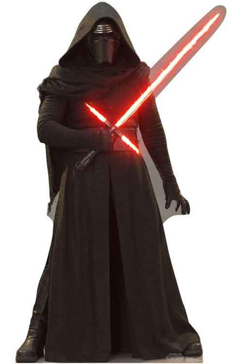 star wars stand up kylo ren