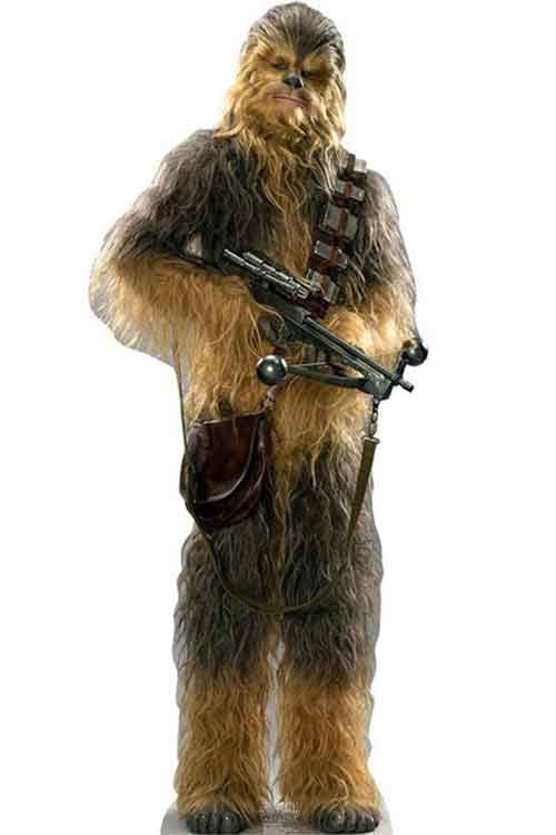 star wars stand up chewbacca