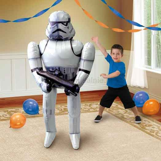 star wars airwalker balloon