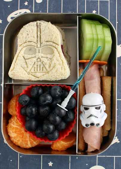 star wars sandwiches