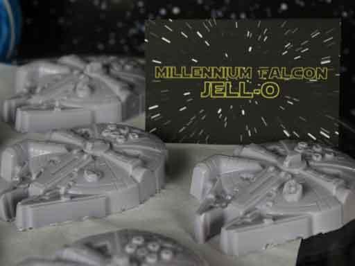 millenium falcon jell-o