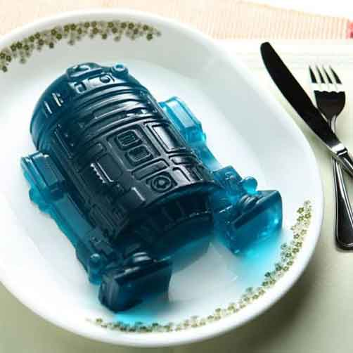 star wars jell-o R2D2