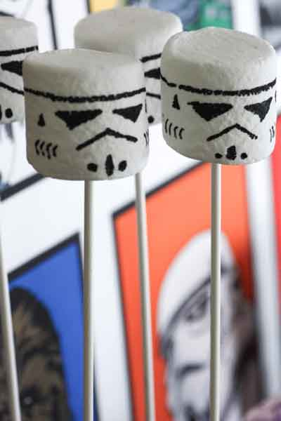storm trooper marshmallows