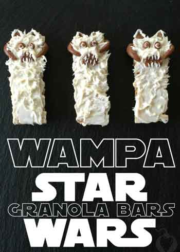 star wars wampa granola bars