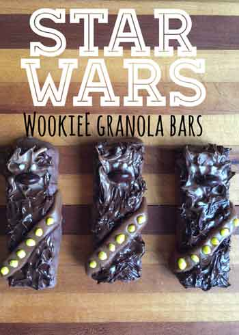 star wars wookie granola bars