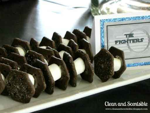 tie fighter oreo cookies