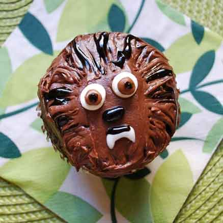 star wars cupcakes chewbacca
