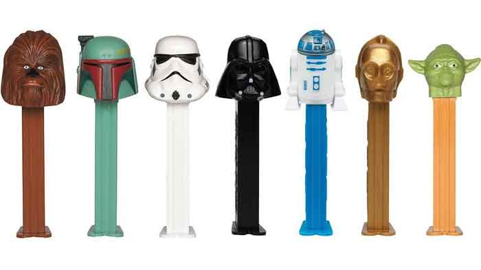 star wars pez