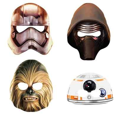 star wars force awakens masks
